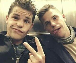 max carver, charlie carver, and teen wolf image