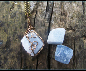 amethyst, boho, and crystal image