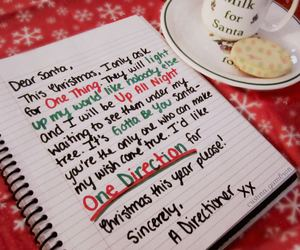 one direction, christmas, and directioner image