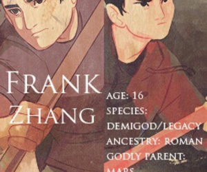 percy jackson, books, and frank zhang image