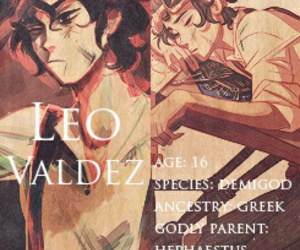 percy jackson and leo valdez image