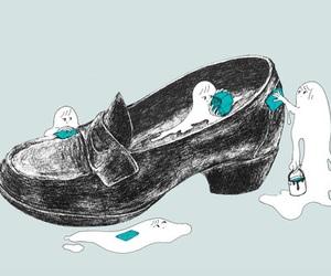 art, shoe, and cute image