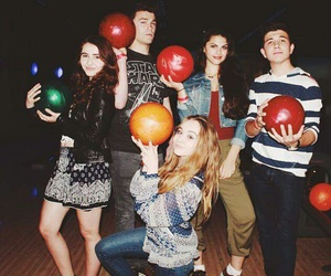 sabrina carpenter, bradley steven perry, and peyton clark image