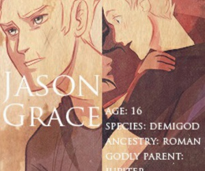 percy jackson, books, and jason grace image