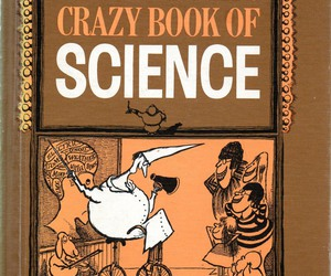 retro, science book, and arnold roth image