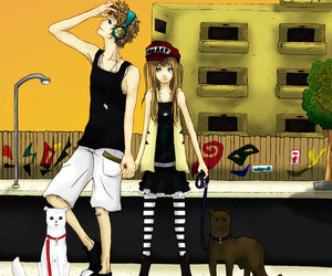 blond, blondy, and city image