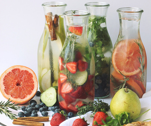 healthy, food, and water image