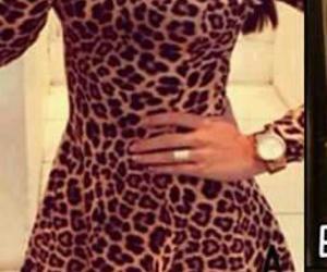 Chica, moda, and vestidos image