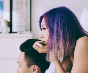 asian, fashion, and short hair image