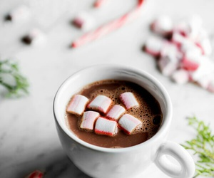 candy cane, christmas, and dessert image