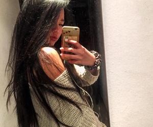 asian, hair, and Hot image