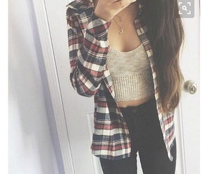 girly, chic, and fall image