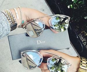 dior, sunglasses, and glasses image