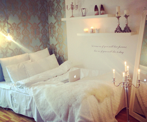 bedroom, girly, and classy image