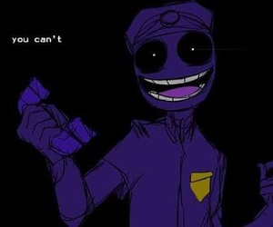 purple guy, fnaf, and five nights at freddy's image