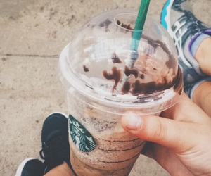 coffee, starbucks, and frapuccino image