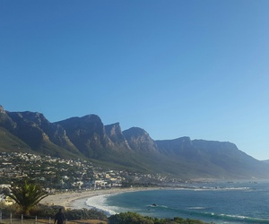 blue sky, ocean, and cape town image