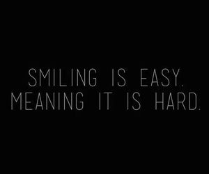 hard, smile, and mean image
