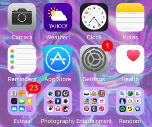 icons, iphone, and lol image