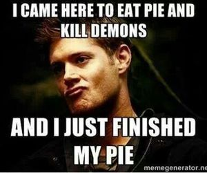 supernatural, dean winchester, and demons image