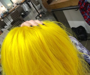 hayley williams, yellow, and yellow hair image