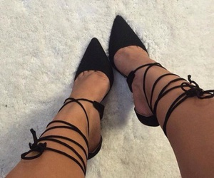 beauty, chic, and high heels image