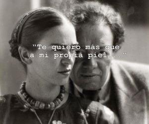 love, frida kahlo, and Diego Rivera image