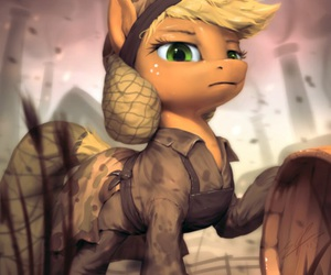 cartoons, military, and MLP image