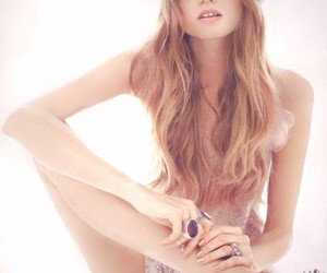Abbey Lee Kershaw, hair, and vogue image