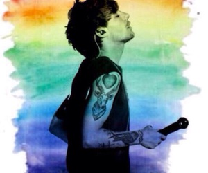 louis tomlinson, louis, and larry image