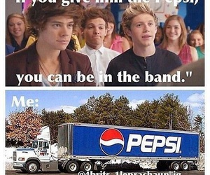 one direction, Pepsi, and Harry Styles image