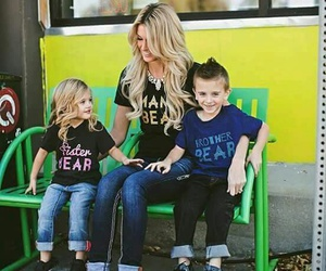beauty, family, and fashion image