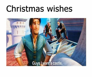 castle, funny, and meme image