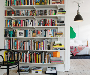 room, books, and inspiration image