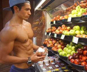 abs, diet, and goals image
