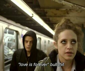 love, quotes, and bullshit image