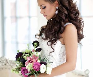 beautiful, bouquet, and rose image