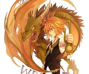 nanatsu no taizai, dragon, and wrath image