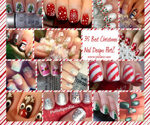beauty, candy canes, and deer image