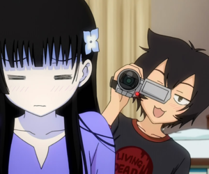 anime, sankarea, and kawaii image