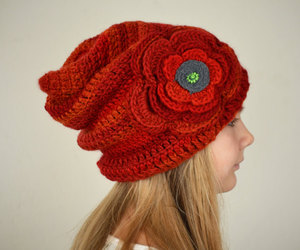 elf, red hat, and slouchy beanie image
