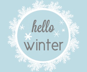 winter, blue, and christmas image