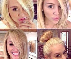 beauiful, blond hair, and bob image