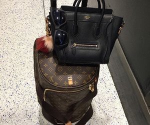 celine, luxury, and travel image