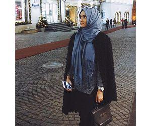 beauty, muslim, and niqab image