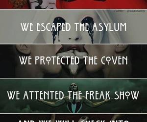 ahs, american horror story, and asylum image