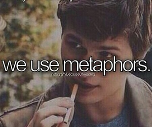 metaphor, the fault in our stars, and love image