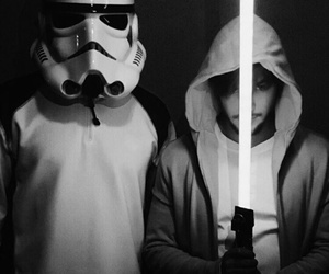 im5, black and white, and star wars image