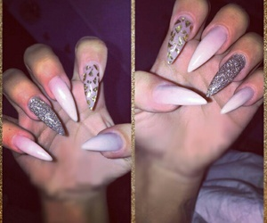 vintage, cool, and long nails image