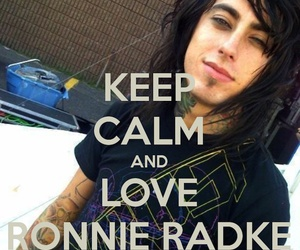 ronnie radke, band, and falling in reverse image